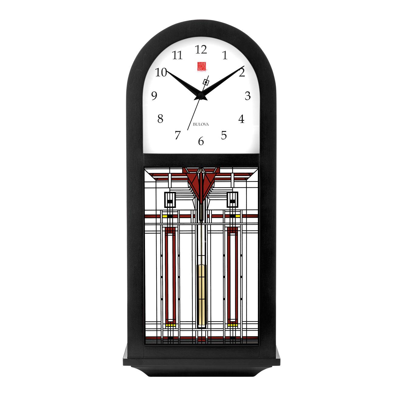 Bulova usonian ii mantel clock